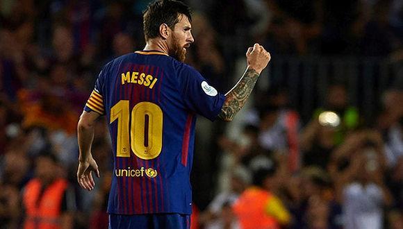 'Mis pensamientos están con ustedes': Messi a México