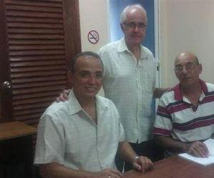 Antonio Guerrero, Néstor del Prado y Lázaro Estenoz. Foto: Néstor del Prado