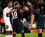 Cavani y Neymar, el posible inicio de una guerra de egos