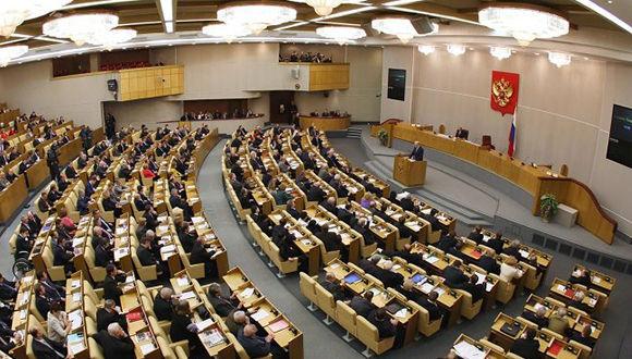 Parlamento ruso exige a Naciones Unidas fin de bloqueo a Cuba. Foto: Sputnik