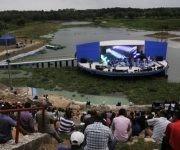 Acto de Reinauguración del Anfiteatro del Parque Lenin, en La Habana, Cuba,  el 2 de septiembre de 2017 ACN FOTO/Oriol de la Cruz ATENCIO