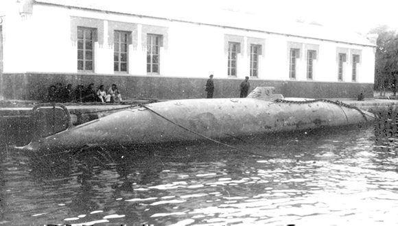 Primer submarino operativo del mundo, ideado por el español Isaac Peral. Foto: Archivo