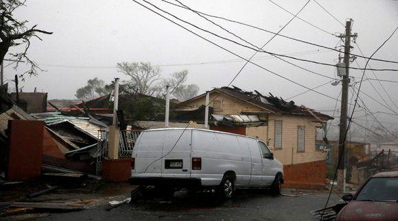 Guayama, Puerto Rico, 20 de septiembre de 2017. Foto: Reuters.