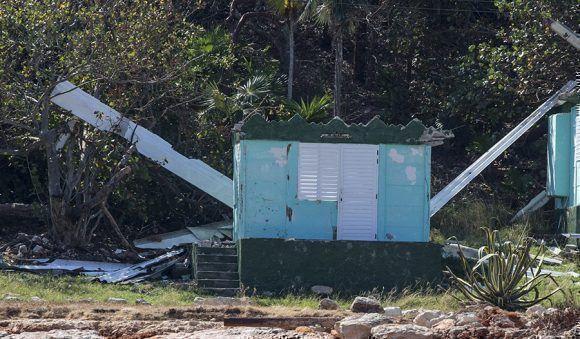 Base de campismo de Puerto Escondido, Santa Cruz del Norte, Mayabeque. Foto: Ismael Francisco.