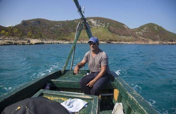 Juan Lopez pescador de Puerto Escondido, Santa Cruz del Norte, Mayabeque. Foto: Jennifer Romero