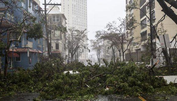 Apocalipsis en Puerto Rico. Foto: Getty Images.