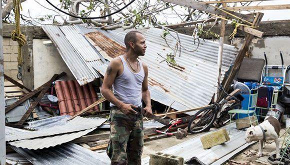 Apocalipsis en Puerto Rico. Foto: AP.
