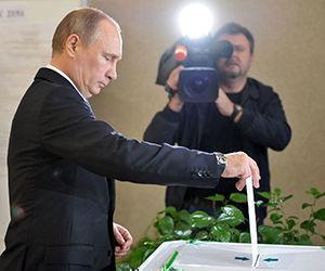 El jefe de Estado ruso realizó las declaraciones en el llamado día de votación unificada. Foto: AP/ Archivo.