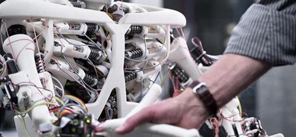 Roboy, uno de los primeros robots con articulaciones y huesos. Foto: 3Dnatives.
