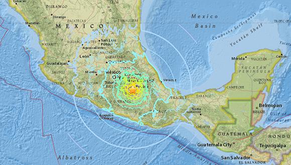El Servicio Sismológico Nacional (SSN) detalló que, según el reporte preliminar, el movimiento telúrico fue de magnitud 6,8 y se localizó a siete kilómetros al oeste de Chiautla de Tapia, en el central estado de Puebla.
