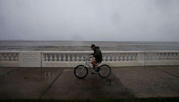 Tampa desierta. Foto: Reuters.