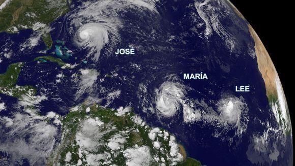 Imagen del satélite GOES 13, NOAA