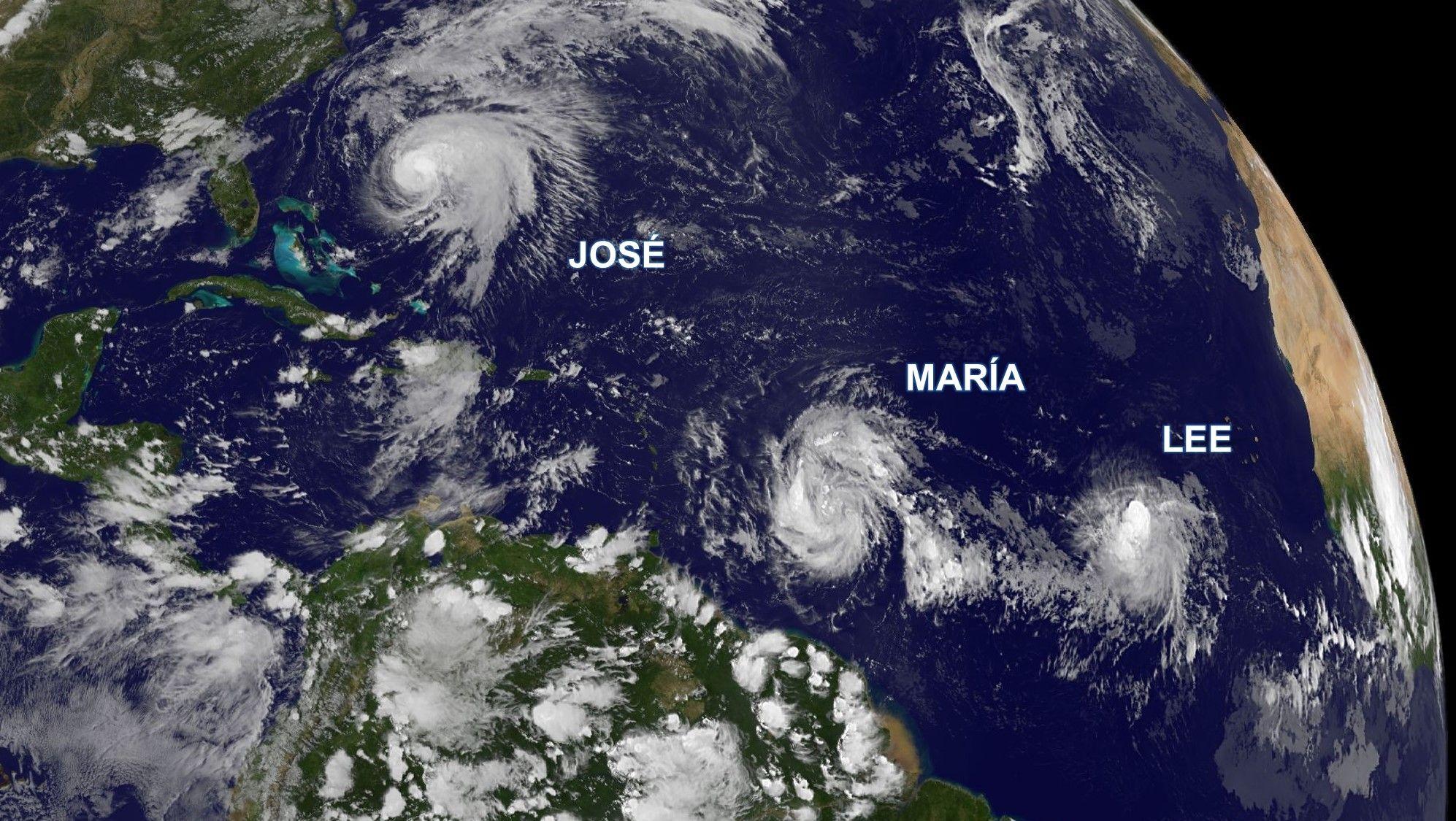 María podría ser huracán categoría tres antes de llegar a Puerto Rico