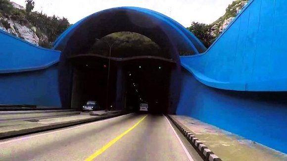 Cierre parcial del Túnel de la Bahía habanera desde hoy martes