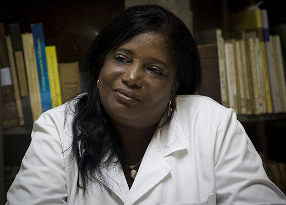 La forense cubana, Yleana Vizcaíno Dimé. Foto: Irene Pérez/ Cubadebate.