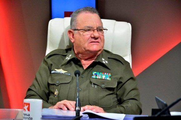 Coronel Ramiro Ramírez Álvarez, Jefe del Departamento de Seguridad Diplomática del Ministerio del Interior (Minint)