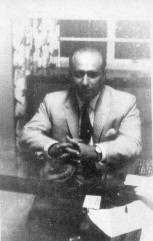 Fangio secuestrado.