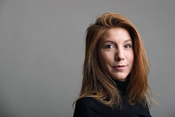 El espeluznante caso de la sueca, Kim Wall, fue uno de los asesinatos a a periodistas más impactantes del año. Foto: Tomada de EFE.