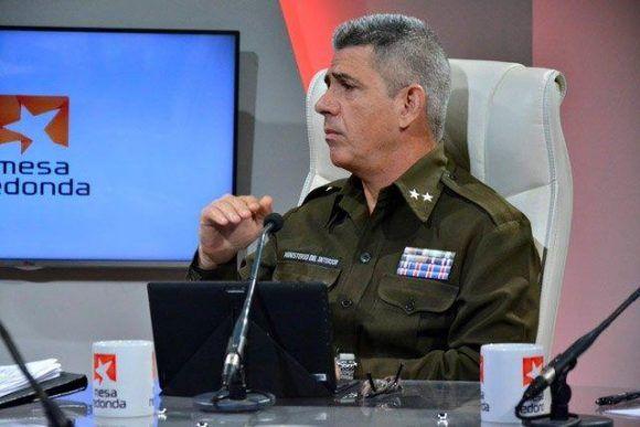 El coronel Roberto Hernández Caballero, Investigador de la Dirección General de Investigación Criminal y Operaciones del Minint