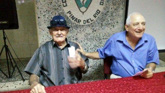 Manolo y el autor.