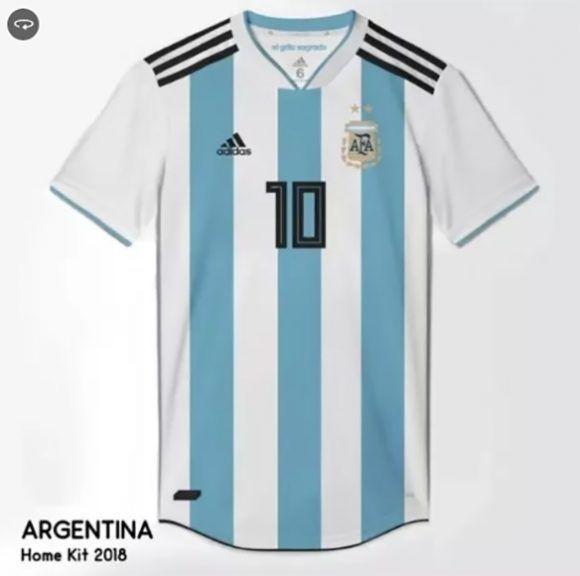 07e7a2534f160 Se filtran las posibles camisetas de 10 selecciones para el Mundial ...
