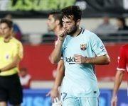 Arnáiz debutó con gol. Foto: @FCBarcelona_es.