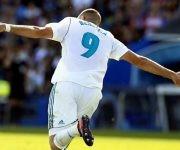 Benzema abrió la cuenta por el Madrid. Foto tomada de Marca.