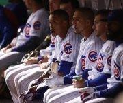 Rostros de decepción en los monarcas de Chicago Cubs. Foto: Chicago Tribune.