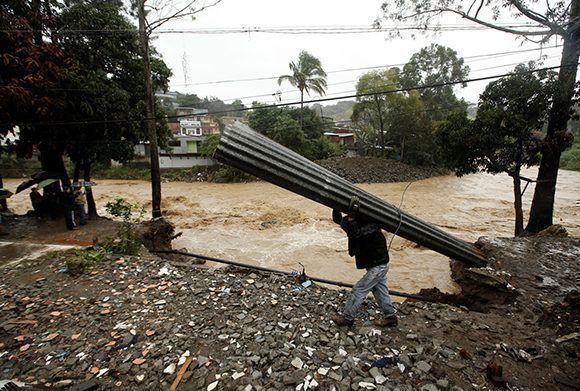Devastación en Costa Rica tras el paso de Nate. Foto: Reuters.