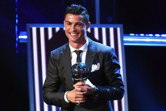 Cristiano Ronaldo es nuevamente The Best