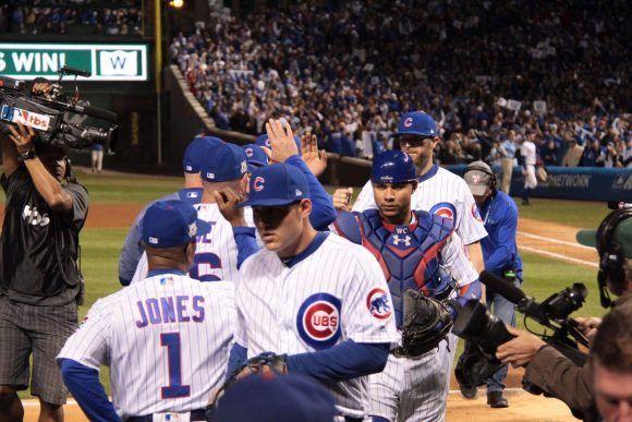 Cubs ganaron el primer partido de la Serie de Campeonato. Foto: @Cubs.
