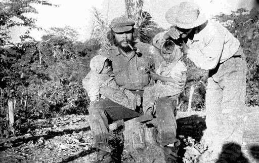 El Che en Bolivia. Foto: Centro de Estudios Che Guevara