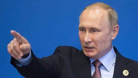 El presidente ruso, Vladímir Putin. Foto: AP.