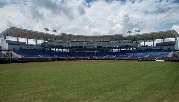 El nuevo Estadio Nacional de Beisbol Denis Martínez tiene una capacidad de 15 mil aficionados. Foto: Jader Flores / La Prensa