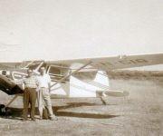 Este sagüero llegó a poseer una avioneta de su propiedad. Foto: Archivo de José Miguel Pérez Dib