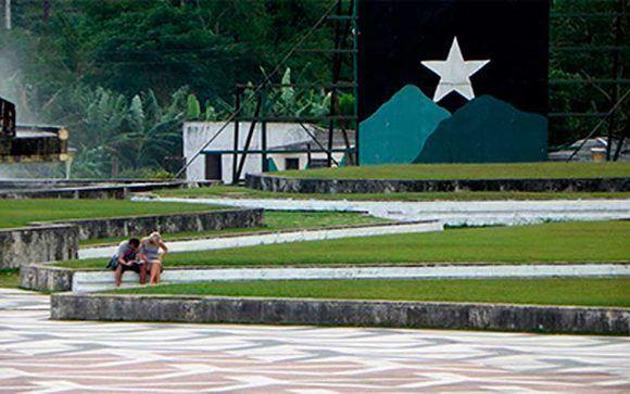 Vista exterior de la Plaza Ernesto Che Guevara. Foto: Vanguardia / Cortesía Jorge Cao Campo