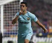 Luis Suárez anotó el del empate. Foto: @LaLiga.