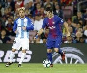 Luis Suárez sigue sin recuperar su mejor versión. Foto: @FCBarcelona_es.