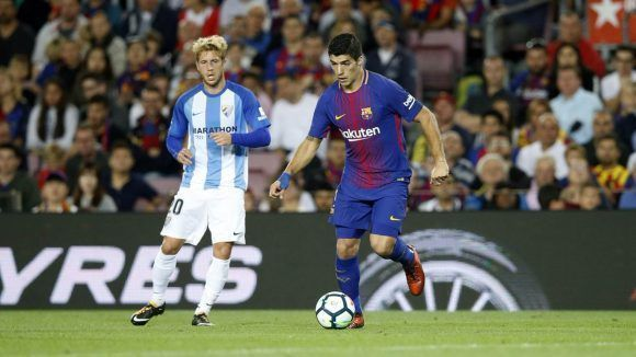Luis Suárez sigue sin recuperar su mejor versión. Foto: @FCBarcelona_es