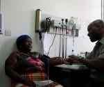 Médicos cubanos en Dominica. Foto: Publicada en el Facebook del autor