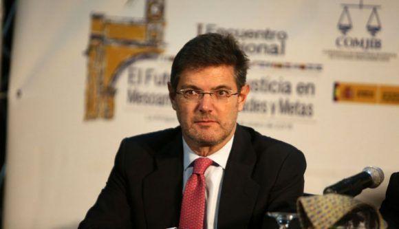 El Ministro español de Justicia, Rafael Catalá, valoró.