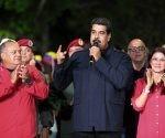 Nicolás Maduro habla tras la contundente victoria de su partido en las elecciones regionales en Venezuela. Foto: Reuters.