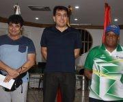 A la izquierda, el cubano Pedro Rodríguez obtuvo el segundo puesto.