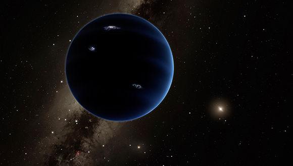 Planeta Nueve. Foto: NASA.