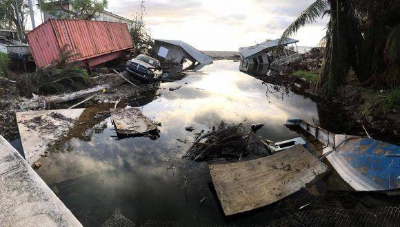 Puerto Rico tras el paso del huracán María. Foto: Eieri Ossorio / Cubadebate