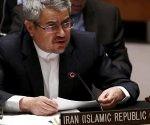 Qolamali Joshur, embajador de Irán ante la ONU. Foto: Archivo.