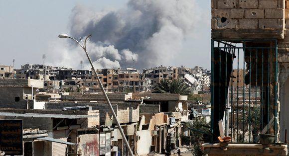 Raqqa. Foto: Reuters.
