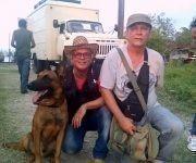 Roly  Peña  y Miguel Sosa, directores de la serie UNO. Foto cortesía de los entrevistados.