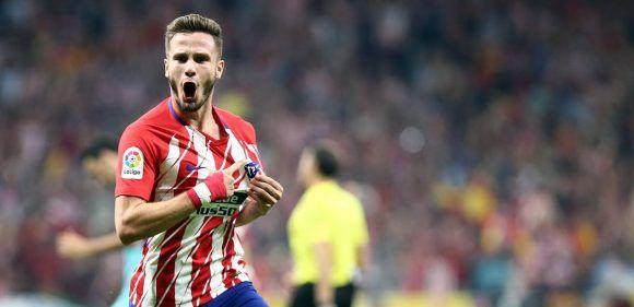 Saúl Ñíguez anotó un golazo. Foto: @Atleti