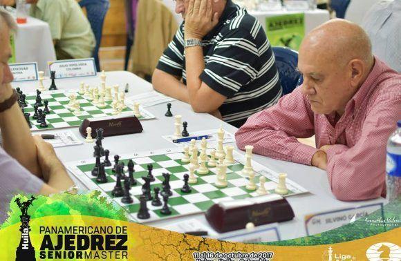 Silvino García en una partida durante el certamen. Foto: Cortesía del entrevistado.